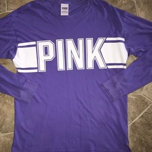 Purple long sleeve Victoria Secret PINK